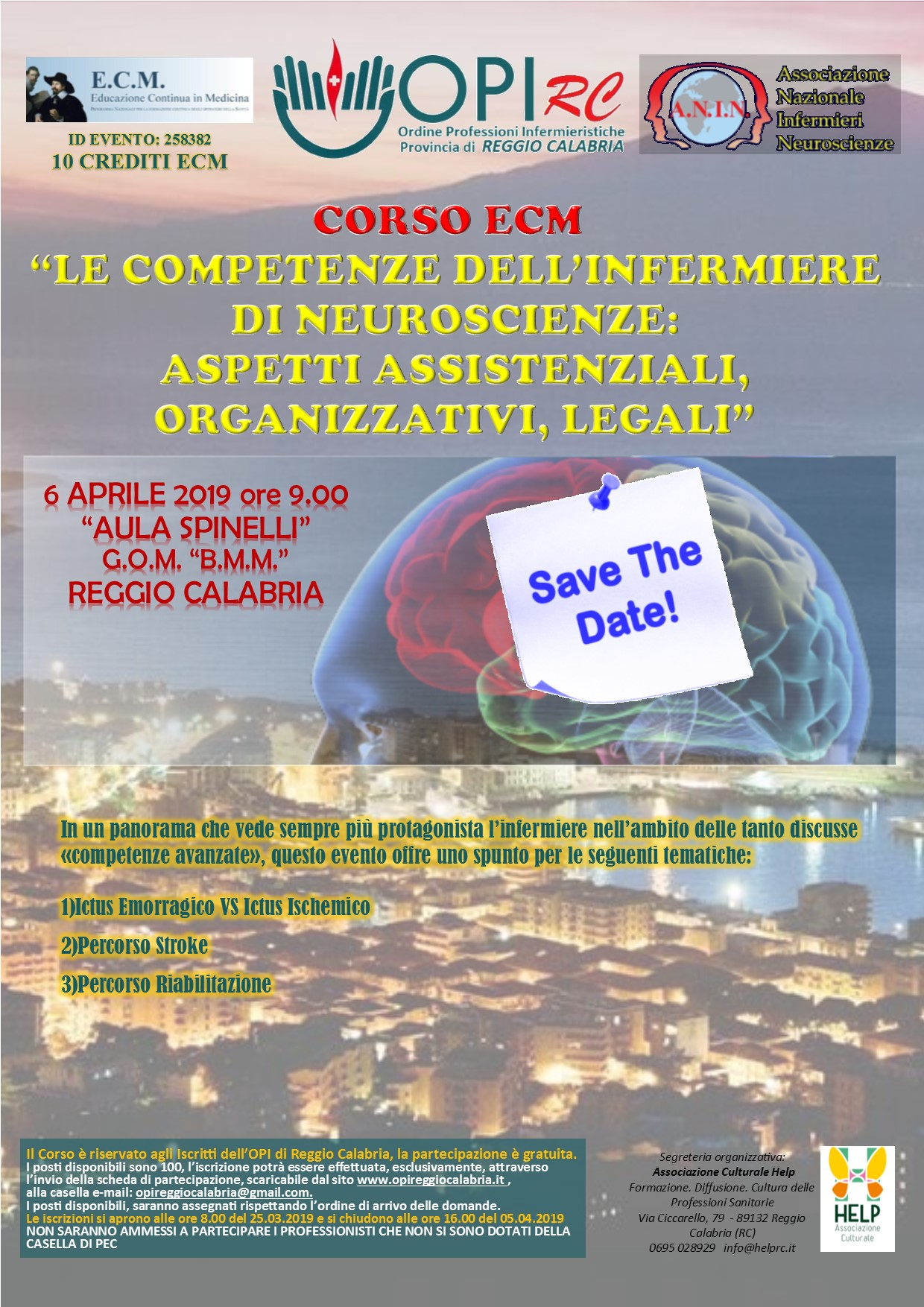 locandina ecm 06.04.2019 save the date
